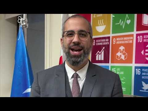 UN Bahrain Resident Coordinator a.i. Mr. Mohamed Zarkani congratulates Bahrain on #IWD2021